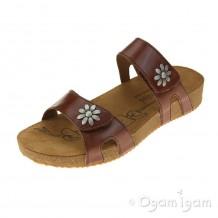 Josef Seibel Tonga 04 Womens Camel Brown Sandal