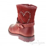 Agatha Ruiz de la Prada Girls Burdeos Red Boot