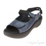 Wolky Jewel Womens Denim Sandal