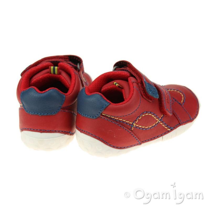 Start-rite Baby Turin Infant Boys Red Shoe | Ogam Igam