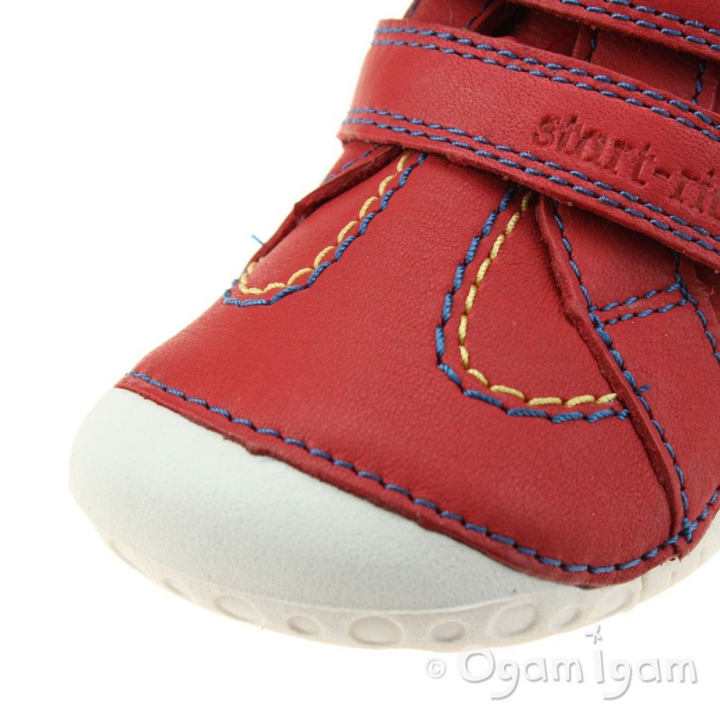 Start rite Baby Turin Infant Boys Red Shoe