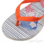 Joules Mermaid Girls Light Blue Flip Flop