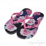 Joules FrenchNavy BeauBloom Womens Navy FlipFlop