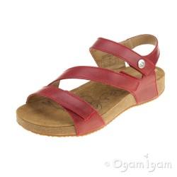Josef Seibel Tonga 25 Womens Red Sandal