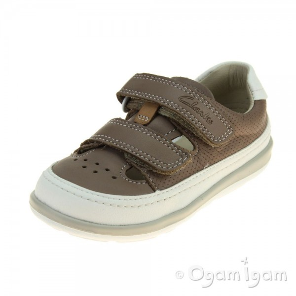 Clarks Softly Boy Fst Boys Mushroom Shoe