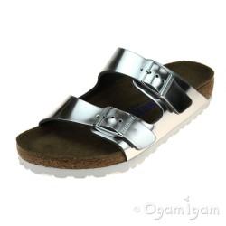 Birkenstock Arizona Womens Silver Sandal