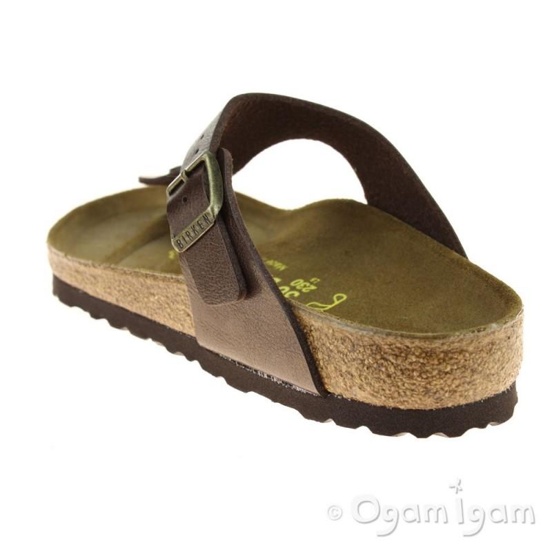 birkenstock gizeh womens toffee metallic brown sandal. Black Bedroom Furniture Sets. Home Design Ideas