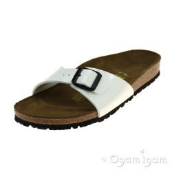 Birkenstock Madrid Womens White Patent Sandal