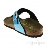 Birkenstock Gizeh Kids Girls Mirror Blue Sandal