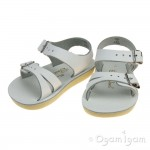 Salt-Water Seawee Girls White Sandal