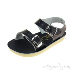 Salt-Water Seawee Girls Boys Navy Sandal