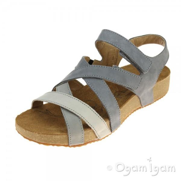 Josef Seibel Tonga 37 Womens Grey Sandal