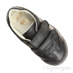 Clarks LilfolkZoo Inf Boys Black School Shoe