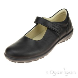 Primigi PCI 8573 Girls Black School Shoe