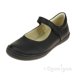 Primigi PTF 8136 Girls Black School Shoe
