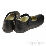 Primigi 44320 Girls Black School Shoe