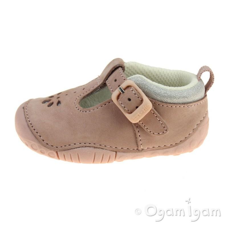 Clarks Girls Shoes Infant Pink
