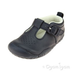 Start-rite Baby Jack Infant Boys Navy Shoe