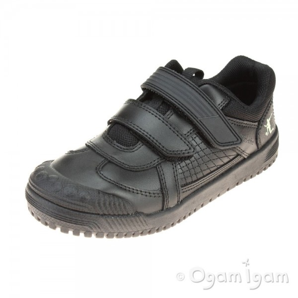 Start-rite Cup Final Boys Black School Shoe