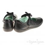 Start-rite Princess Elza Girls Black School Shoe