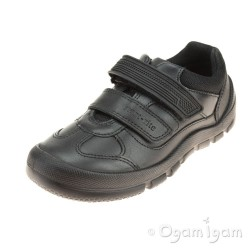 Start-rite Warrior Boys Black School Shoe