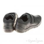Start-rite Warrior Boys Black School Shoe