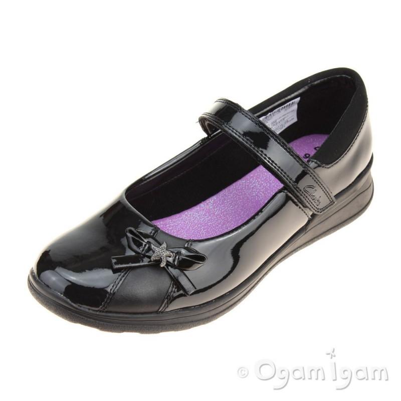 Clarks Black Shoes Size