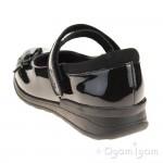 Clarks Mariel Wish Jnr Girls Black Patent School Shoe