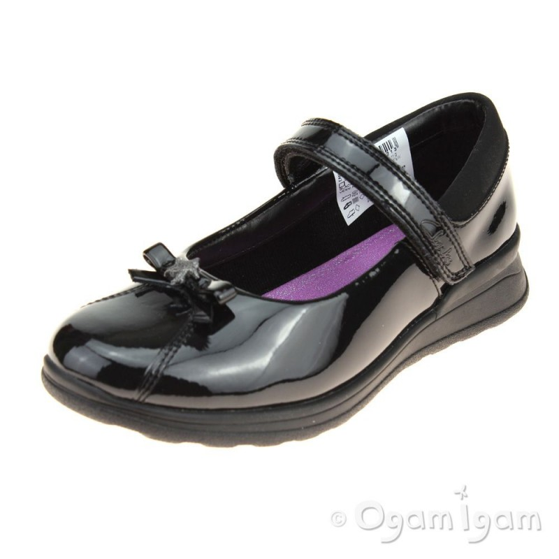 Clothing, Shoes & Accessories Clarks Girls Navy Blue Lights Up Shoes.size 9 Ex Con