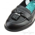 Clarks PreppyEdge BL Girls Black School Shoe