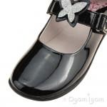 Lelli Kelly Angel Girls Black Patent School Shoe