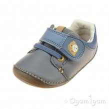 Clarks Tiny Sid Boys Grey Shoe