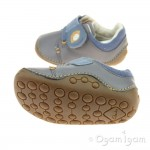 Clarks Tiny Sid Boys Grey Shoe
