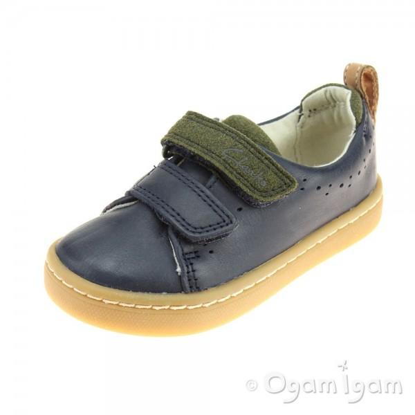Clarks Cute Toy Fst Boys Navy Shoe