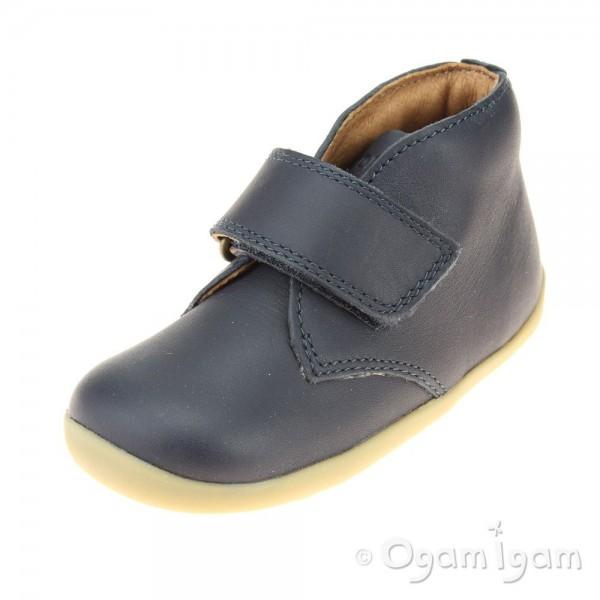 Bobux Wander Infant Boys Navy Boot