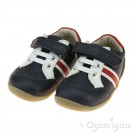 Bobux Trackside Infant Boys Navy Shoe