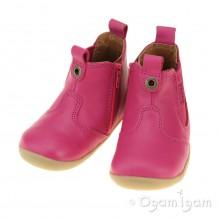 Bobux Jodphur Infant Girls Fuchsia Boot
