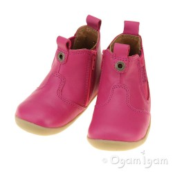 Bobux Jodphur Infant Girls Fuchsia Boot