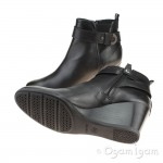Geox Inspiration Womens Black Ankle Boot