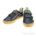 Clarks Brill Toy Inf Boys Navy Shoe