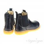Angulus 2192 Boys Girls Navy Chelsea Boot