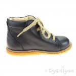 Angulus Boy's Girl's Navy Lace Up Boot