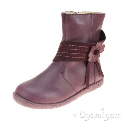 Primigi PHW 8088 Girls Aubergine Boot