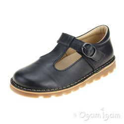 Petasil Cindy Navy Girls Navy Shoe