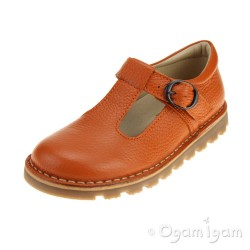 Petasil Cindy Orange Girls Orange Shoe