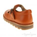 Petasil Cindy Orange Girls Orange Shoe