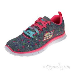 Skechers Skech Appeal Star Streamer Girls Grey-Multicolour Trainer