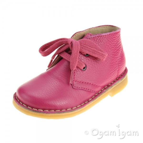 Petasil Koel Girls Pink Boot