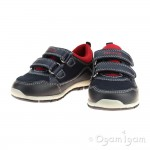 Geox Shaax Boys Navy-Red Shoe