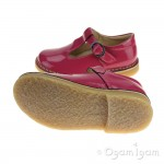 Petasil Crosspatch Girls Pink Patent Shoe